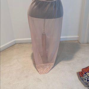 Dresses & Skirts - Sheer Skirt